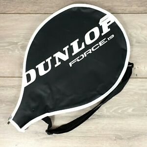 Dunlop Force Tennis 19 21 23 25 27 Racket Cover Case Protector Black S235-1