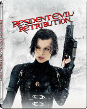 Resident Evil: Retribution Limited Edition Steelbook (Blu-ray3D/2D) *BRAND NEW*