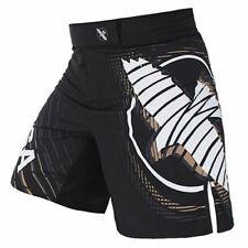 Mma Boxing Black Shorts Training Pants Muay Thai Fighting Clothes Men/ Women New