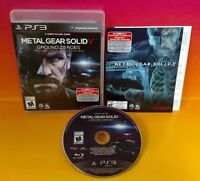 Metal Gear Solid V: Ground Zeroes - PS3 Sony Playstation 3 COMPLETE