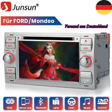 "7"" Für Ford Mondeo Focus C/S-Max Galaxy Autoradio DVD GPS Navi BT DAB+ FM RDS"