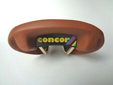 *NOS SAN MARCO 'CONCOR' SUPERCORSA Italian brown leather saddle*