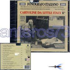 FONOGRAFO - CARTOLINE DA LITTLE ITALY III° RARO CD SIGILLATO