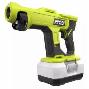 RYOBI 18V ONE+ Cordless Handheld Electrostatic Sprayer PSP02 Tool Only, PSP02BTL