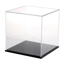 Clear Acrylic Display Show Case 8x8x8cm for Amiibo Funko POP Figures Toy