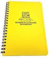 "Rite in the Rain All-Weather Women's Lacrosse Notebook, 4 5/8"" x 7"""