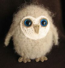 CROCHET PATTERN (INSTRUCTION LEAFLET) - Make a BABY OWL - Ref. 17B