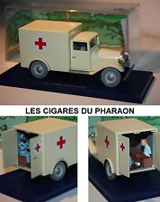 ATLAS-Tim und Struppi-TINTIN CAR-Ambulance-LES CIGARES DU PHARAON-very rare