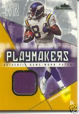 2004 RANDY MOSS Fleer Showcase Playmakers Jersey /84