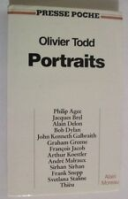 Livre de poche-Olivier Todd - Portraits -