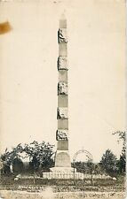 1923 The Great Hinckley Fire Monument at Hinckley, Minnesota Real Photo Postcard