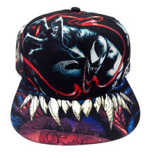 MARVEL COMICS VENOM SUBLIMATED ALL OVER PRINT SNAPBACK HAT CAP ADJUSTABLE RETRO