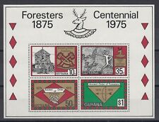 TIMBRE STAMP  BLOC GUYANA Y&T#6 ART ARC CHASSE NEUF**/MNH-MINT 1975 ~D27