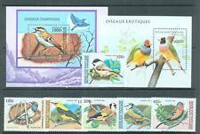 Togo 1996-9 two miniature sheets and one set Birds MNH
