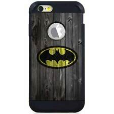 Apple iPod Touch 5/6 5th/6th Gen. Hybrid Case Cover Batman Wood
