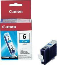 ORIGINAL CANON BCI-6C BCI6C 4706A002 TINTE cyan IP4000 MP780 A-Ware