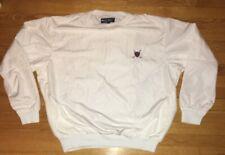 Vintage Polo Golf Sport Ralph Lauren Pullover Jacket Mens Size Large White