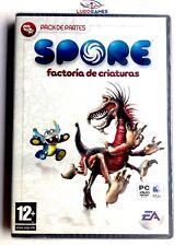 Spore Factoría Criaturas PC Nuevo Precintado Videogame Videojuego Sealed New