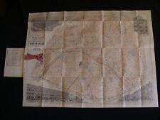 Plan de Paris 1889 du Bon Marché par Aristide Bouçicaut