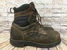 RED WING Irish Setter Steel Toe & Waterproof Work Boots Men's 9.5 D