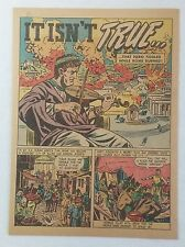1947 cartoon story ~ NERO FIDDLED WHILE ROME BURNED?