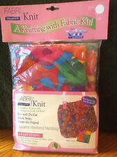 Cranston Fabri Knit Kit BAHAMA WEEKEND HANDBAG Knitting Kit Fabric Strips  NEW