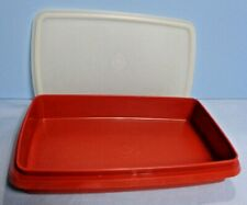 Tupperware . # 816-14 . Flat Storage Container