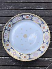 Ancien Assiette Porcelaine Directoire . Paris Sevres Dagoty