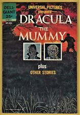 UNIVERSAL PICTURES PRESENTS DRACULA THE MUMMY (DELL 9/63) VF/NM (9.0) OW/W PGS