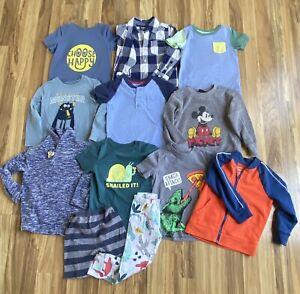 Lot of 12 Toddler Boys Sz 3 T Clothes Cat & Jack Carters Oshkosh Disney
