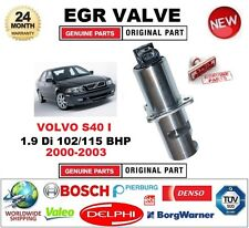 FOR VOLVO S40 I 1.9 Di 102/115 BHP 2000-2003 Electric EGR VALVE 5PIN with GASKET