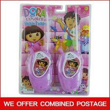DORA THE EXPLORER ELECTRONIC WALKIE TALKIE PLAY SET KID BOY CHILDREN TOY