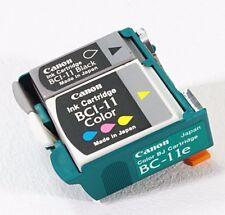 Canon BC-11e 4Color Printhead Genuine New Sealed - Bubble Jet Color Printer BJC