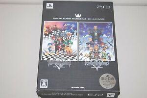 Kingdom Hearts Starter Pack -HD 1.5 + 2.5 Remix Japan Sony Playstation 3 PS3