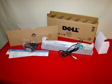 Dell AX510PA AX510 Computer Speaker Flat Monitor Stereo Sound Bar + Power Supply