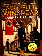 """""""Journey ro Munich"""" by Jacqueline Winspear  As-New Signed 1st Edition"""