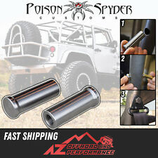 """Poison Spyder Roll Cage Machined Seat Belt Bung Universal For 1.75"""" Tubing"""