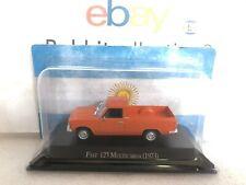 """DIE CAST """" FIAT 125 MULTICARGA (1973) """" AUTOS INOLVIDABLES SALVAT SCALA 1/43"""