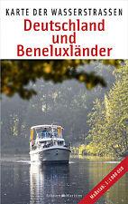 Karte der Wasserstraßen Deutschland und Beneluxländer Behörden Wasserwege Karte