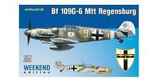 EDUARD MODELS  1/48 Bf109G6 Mtt Regensburg Fighter (Wkd Edition Plasti  EDU84143