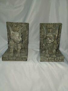 VTG Gargoyle Bookends by Vandor # 486225 With Original Box 1995