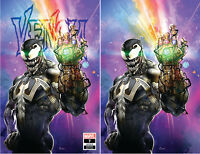 Venom 7 Marvel 2018 NM Clayton Crain Infinity Gauntlet Virgin Set Variant