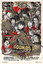 Tyler Stout THE GOONIES Variant print MONDO Mondocon Exclusive Poster  x/300