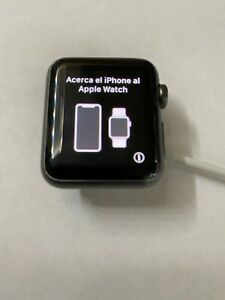 Apple Watch Series 1 38mm Space Grey Aluminum Works