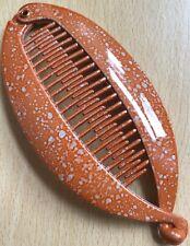 A Chiné Orange Poisson Banane Pince Cheveux