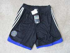 NEW Adidas Colorado Rapids Soccer Shorts Adult Large Black Major League Soccer