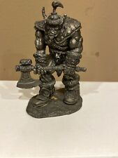 1998 Blizzard Entertainment Word Of Warcraft ORC Grunt Statue/Model Rare 👀