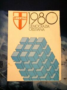 TESSERA DEMOCRAZIA CRISTIANA - 1980 -