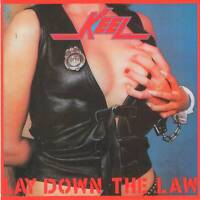 KEEL - LAY DOWN THE LAW (1984) USA Heavy Metal =RARE CD= Jewel Case+GIFT
