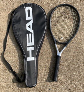 "Head Ti.S6 Titanium Tennis Racquet 28"" Long 4-1/4 EXC Grip w/ Carrying Case"